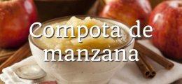 Compota de manzana Thermomix
