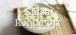 Salsa roquefort Thermomix